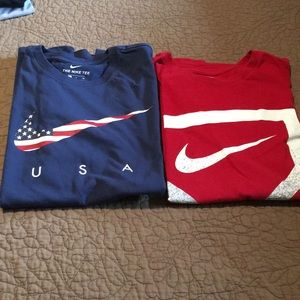 Teen size small Nike T-shirt's